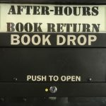 Asian Library outside book drop is now open